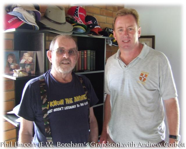 FW Boreham's Grandson with Andrew Corbett