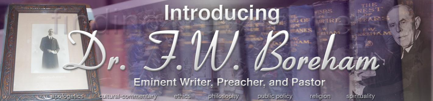 Introducing Dr. F.W. Boreham