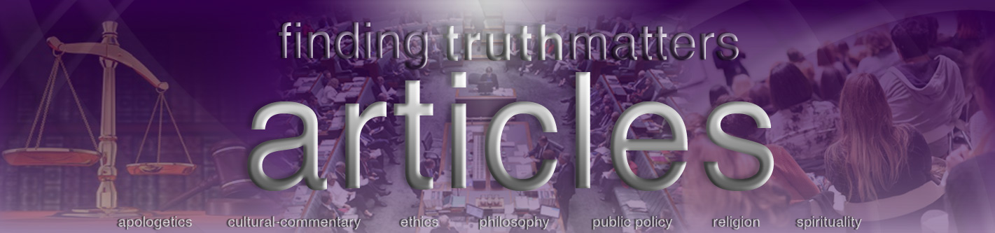 finding truth matters articles